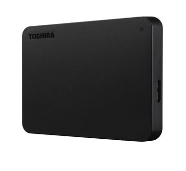 "Toshiba Canvio Basics NUEVO MODELO - Disco duro - 1 TB - externo - 2.5"" - SuperSpeed USB 3.0 - Negro"