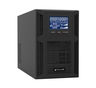 Talius - SAI POW-ON1000VA - 1KVA/900VA - Online - Formato Torre - 2 Schuko - USB + RS232 (NO SNMP)
