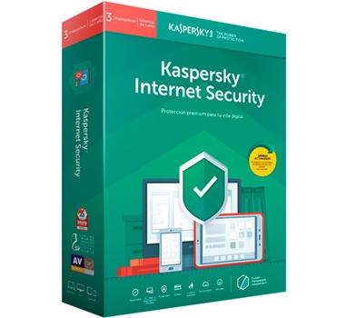Kaspersky Internet Security MultiDevice 2019 - Paquete de suscripción ( 1 año ) - 3 PC - Win - Mac