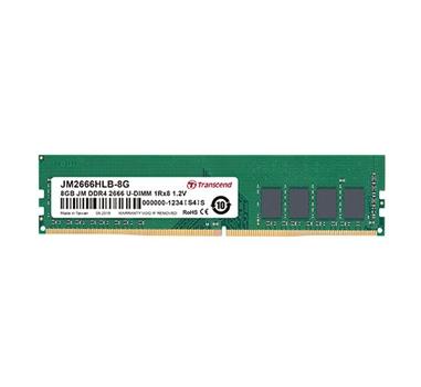 Transcend JetRam 8 GB - 2666 MHz - DDR4 - Non-ECC - CL19 - 1.2V