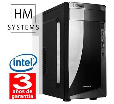 HM Solano C4 - Minitorre MT - 8ª Gen - Intel Core i5 8400 - 4GB DDR4 - 1TB - Grabadora - Lector de tarjetas - USB 3.0 - 3 años garantía - 30 días DOA