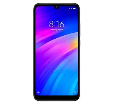 "Xiaomi - Smartphone Redmi 7 - SD632 OctaCore - 3GB - 32GB - 6.26"" HD+ - 4000mAh - 12+2Mpx + 8Mpx - 4G - DualSim - Negro"