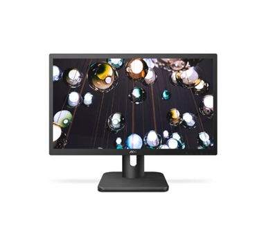 "AOC 22E1D - monitor LCD - 21.5"" - 1920 x 1080 Full HD - TN - 250 cd/m2 - 1000:1 - 2 ms - HDMI - DVI - VGA - altavoces - negro REACONDICIONADO"