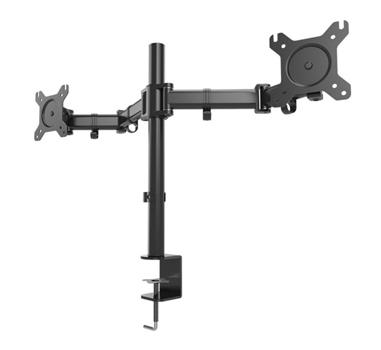 """1Life - Soporte dual monitor 13""""-27"""" - Articulado - VESA 75×75 / 100×100  - Escritorio"""