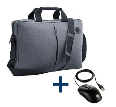 HP - Bundle Maletín HP + Raton óptico X900