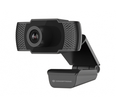 Conceptronic - Webcam FHD AMDIS - 1080P - USB 3.6MM - 30 FPS - Angulo Vision 90º - Microfono integrado