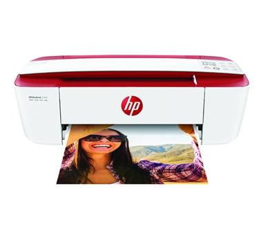 HP - Multifunción color Deskjet 3764 All-in-One - chorro de tinta - 216 x 355 mm - A4 - hasta 4 ppm (copiando) - hasta 19 ppm (impresión) - 60 hojas - USB 2.0 - Wifi