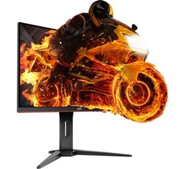 """AOC - Monitor Gaming curvo C24G1 - 24"""" - 60.9 cm - 1920x1080 - 144HZ - 16:9 - 250 cd/m2 - 80:1 - 1 ms - VGA - 2xHDMI - DisplayPort - FreeSync"""