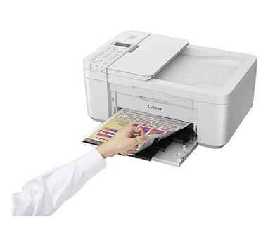 Canon - Multifunción tinta Color Pixma TR4551 - 4800x1200 dpi - Duplex - Escáner 600x1200 - Blanca