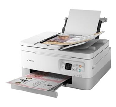 Canon - Multifunción Tinta Color Pixma TS7451 - 4800x1200 dpi - Duplex - Escaner 1200 dpi - Blanca