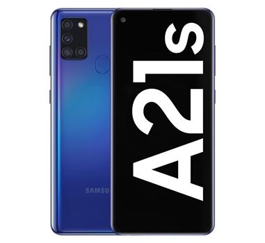"Samsung - Smartphone Galaxy A21S - 3/128GB - 6.5"" - 720x1600 - Azul"