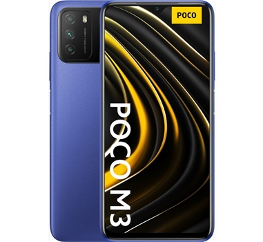"Xiaomi - Smartphone Poco M3 - 6.53"" - 2340x1080FHD+ - 4/128GB - Azul"