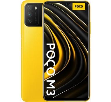 """Xiaomi - Smartphone Poco M3 - 6.53"""" - 2340x1080FHD+ - 4/128GB - Amarillo"""