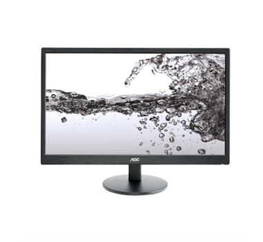 """AOC E2270Swn - Monitor LED - 21.5"""" - 1920 x 1080 - 200 cd/m2 - 20000000:1 (dinámico) - 5 ms - VGA - negro"""