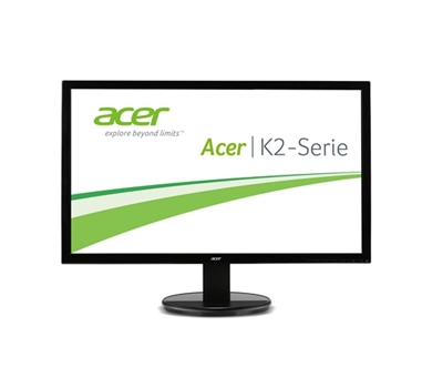 "Acer K242HLbd - Monitor LED - 24"" - 1920 x 1080 - TN - 250 cd/m2 - 100000000:1 (dinámico) - 5 ms - DVI, VGA - negro brillante"