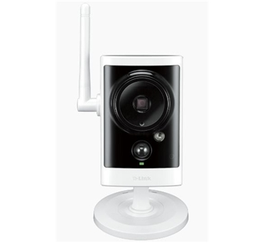 D-Link DCS-2330L - Cámara CCTV de red - exteriores - resistente a la intemperie - color ( Día y noche ) - 1280 x 720 - audio - inalámbrico - Wi-Fi - 10/100 - MJPEG, H.264 - CC 5 V