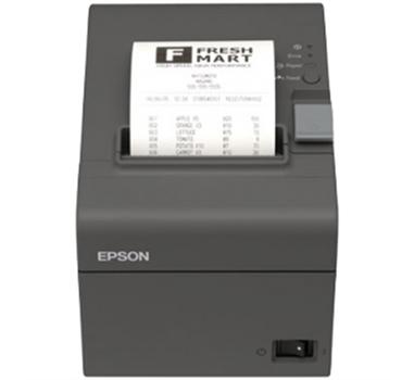Impresora de tickets térmica EPSON TM-T20II, Negro, Con corte, USB, ETHERNET, rollo de 5,8/8 cm,  hasta 200 mm/s.