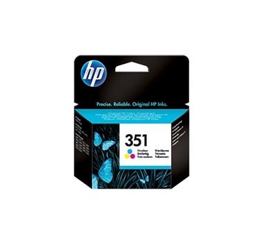HP CARTUCHO TRICOLOR Nº351 170 PAG. DESKJET/4260/D4200 SERIES OFFICEJET JET/J5730/J5780/J5785 PHOTOSMART/C4200/C4280/C4480/C5280/D5360/C5200 SERIES