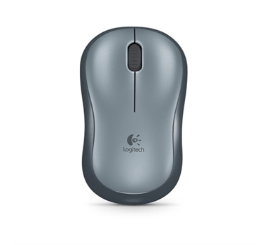 Logitech Wireless Mouse M185 - Ratón - inalámbrico - 2.4 GHz - receptor inalámbrico USB - Gris