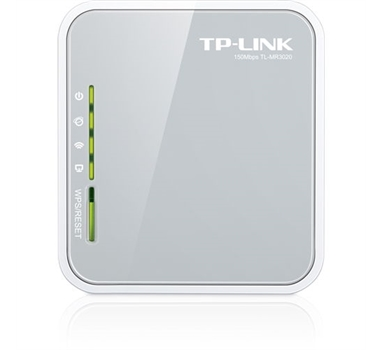 TPLINK TL-MR3020 - Router Wifi para Modem 4G/3G USB Portatil