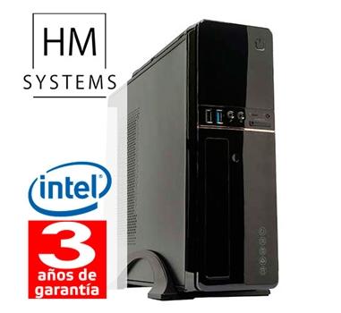 HM Solano C2 - Sobremesa SFF - 7ª Gen - Intel Core i5 7400 - 4 GB DDR4 - 1Tb - Grabadora - USB 3.0 - 3 años - 30 días DOA