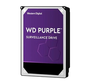 """WD Purple WD40PURZ - Disco duro - 4 TB - interno - 3.5"""" - SATA-600 - búfer: 64 MB - 5400 rpm"""