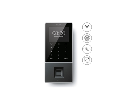 TimeMoto TM-828 Control de Presencia, lector RFID y huella dactilar, incl. TM PC software. Hasta 2.000 usuarios - Safescan