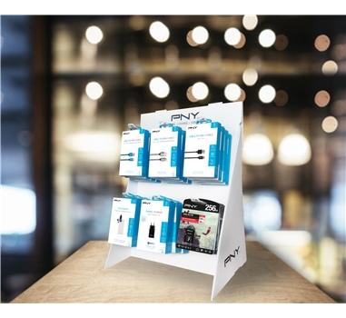 PNY - Bundle almacenamiento flash + Expositor PLV