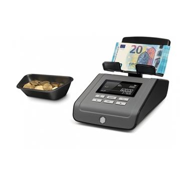 Safescan - Balanza contadora de dinero 6165 -Calibración automática - pantalla LCD