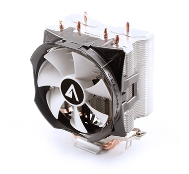 Abysm Gaming - CPU Air Cooler Snow III - Ventilador 10 cm + Disipador 3 pipes - 18-30 dBA - TDP 120W - Intel 1156/1155/1151/1150/775 AMD FM2+/FM1/AM2/AM3/AM4