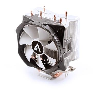 Abysm Gaming - CPU Air Cooler Snow III - Ventilador 10 cm + Disipador 3 pipes - 18-30 dBA - TDP 120W - Intel 1200/1156/1155/1151/1150/775 AMD FM2+/FM1/AM2/AM3/AM4