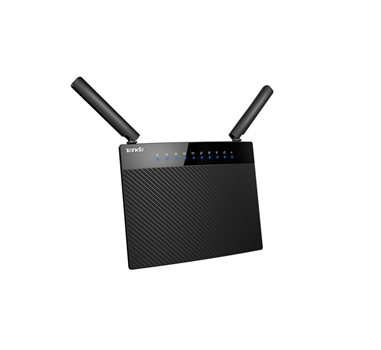 Tenda - Router AC9 - WIFI AC1200 - Dual Band 300Mbps N + 867Mbps AC - Chip Broadcom - Gigabit LAN x4 + WAN Gigabit x1 - USB