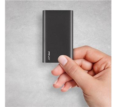 PNY - Disco Duro SSD Externo Elite - USB 3.1 -  960GB - 430Mb/s