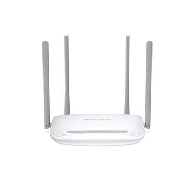 Mercusys - Router N Wireless 2T2R - 2.4GHz - 802.11b/g/n - 1 10/100M WAN + 4 10/100M LAN - 4 antenas