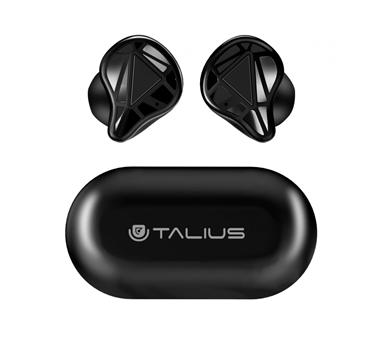 Talius - Cascos intrauriculares EA-5008 Pro TWS BT5.0 chip Realtek 3/4h Negro