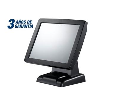 "TPV Compacto TLM-350 - 15"" LED resistivo 1024x768 - Intel J1900  - 4GB - 64GB SSD - Display VFD integrado - Soporta POS Ready 7 / W7 / W10 / Linux - Garantía 3 años"