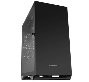 Nox Hummer Zero Black Edition - Caja microATX - Lateral cristal templado - Diseño minimalista - 1 x USB 3.0 - 1 x USB 2.0 - hasta 5 ventiladores (1x120mm incl) - Filtro antipolvo - Negra - 208x376x405