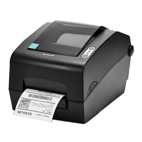Impresora de etiquetas Bixolon SLP-DX420 - Térmica directa - Serie+Paralelo+USB - Negro