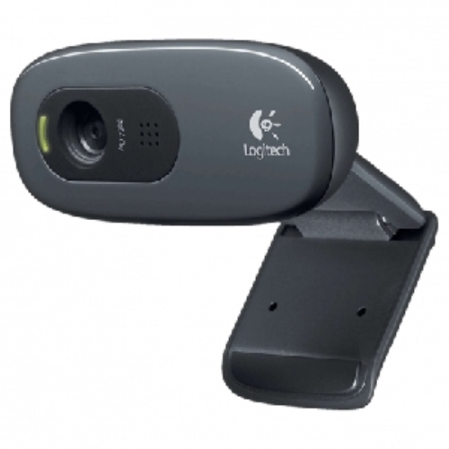 Logitech Webcam C270 - Cámara web - color - Grabación 1024x720 - Audio
