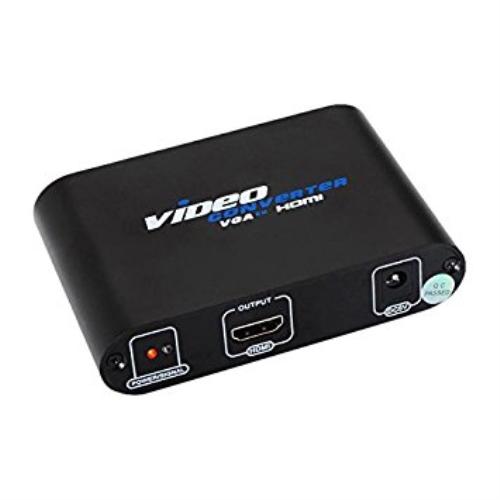 Nanocable - Adaptador SVGA/M+Audio a HDMI/H con alimentacion negro