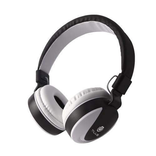 Talius - Auricular Diadema HPH-5005 - Conexión Jack 3.5 - Manos libres - Plegables - Color Blanco