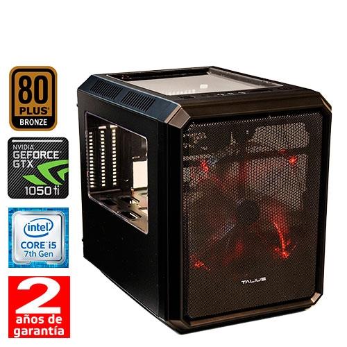 HM Gaming i550 - Cubo MT - Intel Core i5 7400 - 8GB DDR4 - 1TB - 500W 80+ Bronze - GTX 1050 4GB GDDR5 - USB 3.0 - 2 años - 30 días DOA
