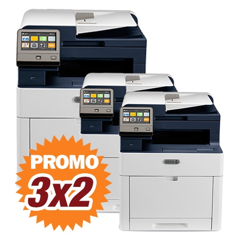 Kit Multifunción láser color Xerox WorkCentre 6515V_DN 3x2