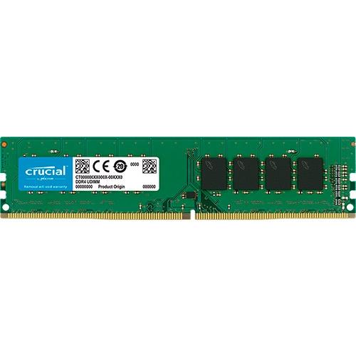 Crucial - DDR4 - 8 GB - DIMM de 288 espigas - sin búfer - 2666 MHz / PC4-21300 - CL19 - 1.2 V - no ECC
