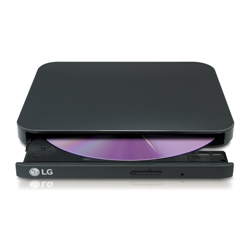 LG - Regrabadora DVD-RW GP90EB70 Retail Ultra Slim Negra
