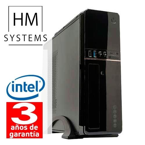 HM Solano C4 - Sobremesa SFF - 8ª Gen - Intel Core i5 8400 - 4 GB DDR4 - 1Tb - Grabadora - USB 3.0 - 3 años - 30 días DOA