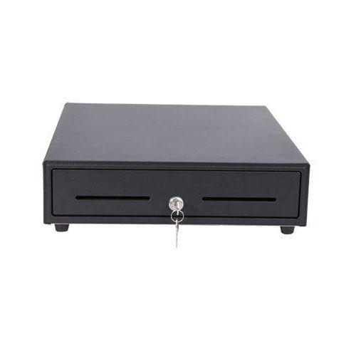 Cajón portamonedas 41X41cm Negro 6 pin (conexión impresora) REACONDICIONADO.