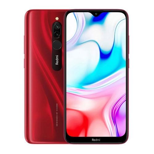Xiaomi - Smartphone Redmi 8 - 6,22''HD+ 4GB - 64GB 4G-LTE 8 - 12+2MPX DUALSIM A9.0 - Rojo