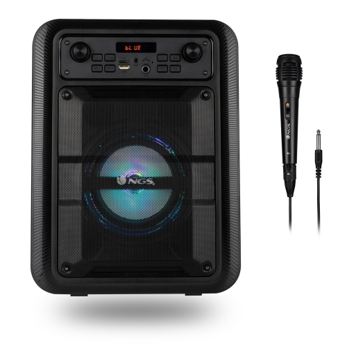 NGS - Altavoz Roller Lingo - Bluetooth/TWS - 20W - Micro SD - USB - Aux - 5