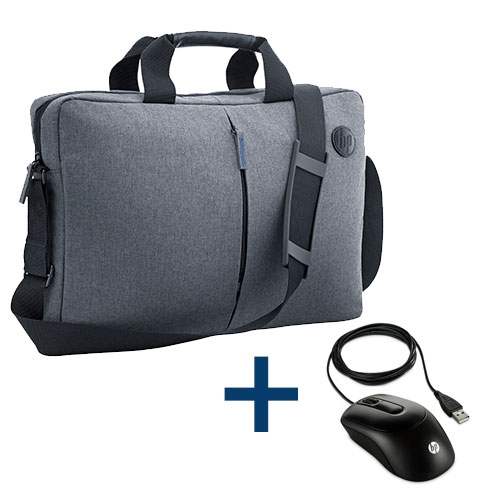 HP - Bundle Maletin K0B38AA + Raton óptico X900